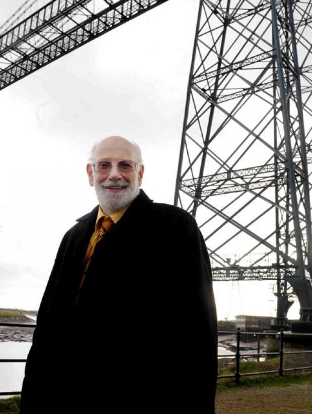 David Hando, chairman of the Friends of the Newport Transporter Bridge management committee