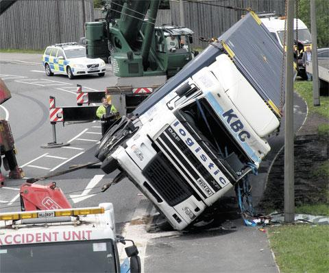 Newport councillors call for probe into SDR lorry crashes