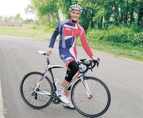 South Wales Argus: Risca cyclist Sam Harrison eyes Commonwealth glory