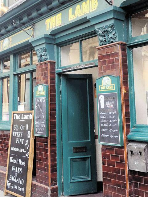 THE LAMB: 'A great Newport pub'