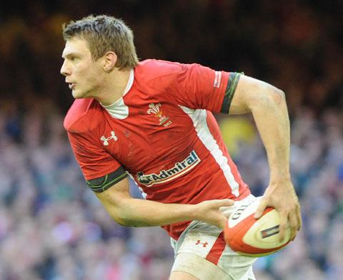EYES ON THE PRIZE: Wales outside half Dan Biggar