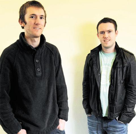 Andy Toovey and Joe O'Hare could win an industry prize for their film The Return