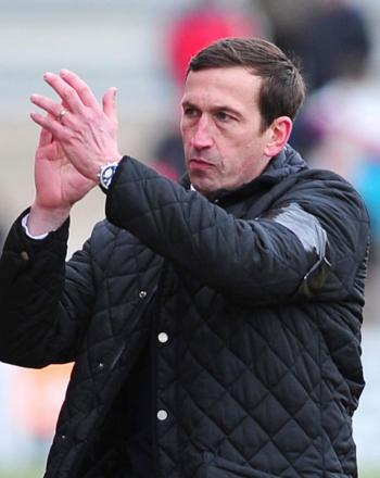 PRIDE: Newport County manager Justin Edinburgh