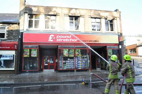 South Wales Argus: GUTTED: The previous Poundstretcher shop in Blackwood