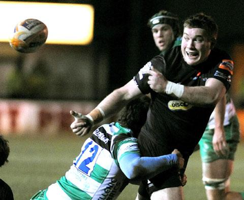 South Wales Argus: Gustafson gets chance to impress as Dragons hooker