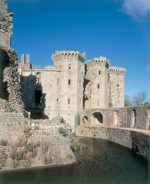South Wales Argus: Raglan Castle, picture provided by Cadw