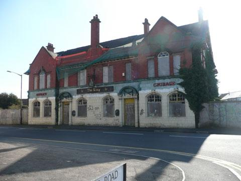 South Wales Argus: The King pub, in Somerton Road, Newport