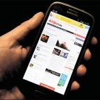 NEW MEDIA: The Argus website viewed on a smartphone