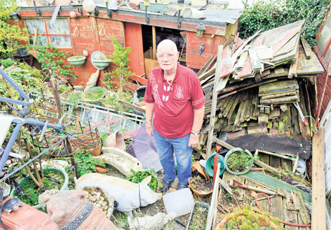 Trevethin hoarder bids farewell to tonnes of clutter
