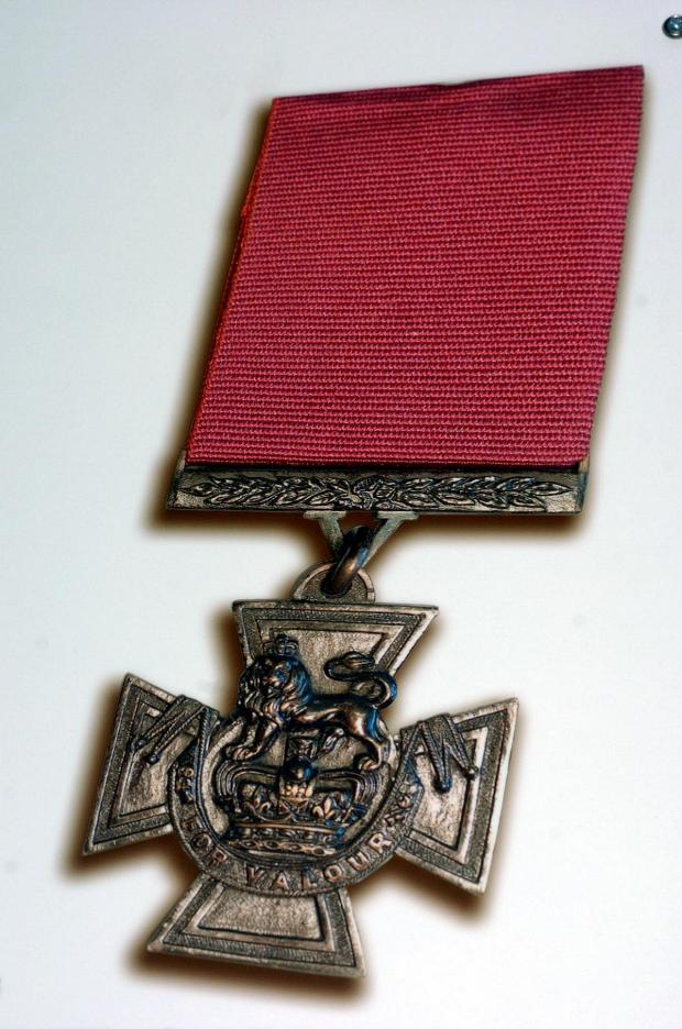 South Wales Argus: File photo of a Victoria Cross medal