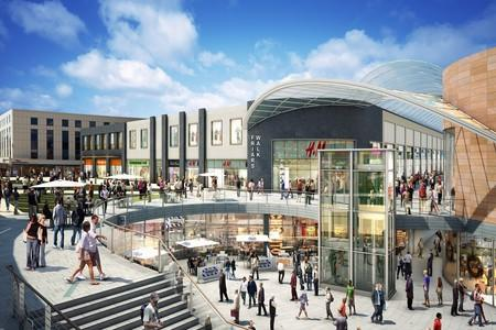 MORE STORES: An artist's impression of how Newport's Friars Walk development will look