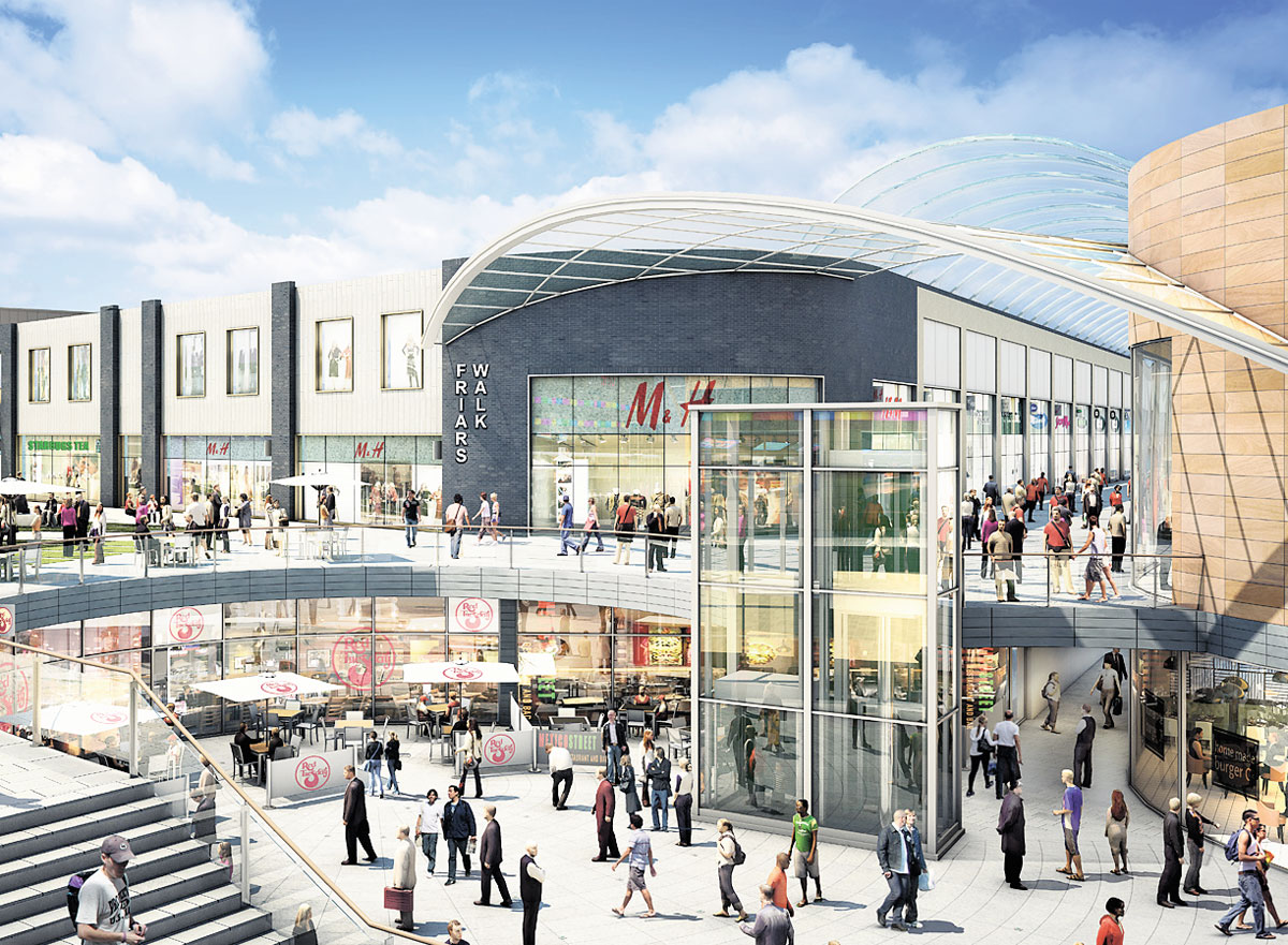REDEVELOPMENT: Debenhams is a key store in the Friars Walk scheme for Newport