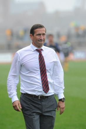 DEFEAT: County boss Justin Edinburgh