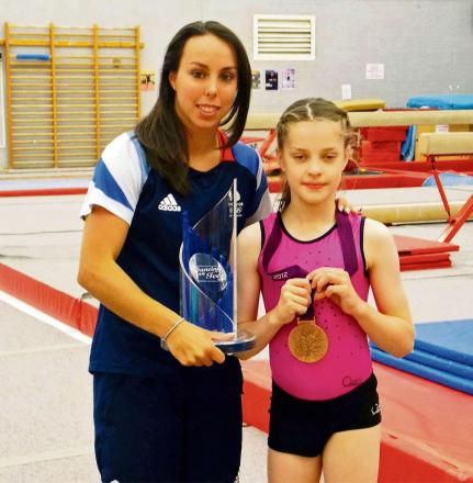 SubmittedJazmine Martin,11, was given the opportunity thanks to Round Table Children's Wish, a charity that grants wishes for children with life-threatening illnesses.The youngster from Pontypool in South Wales enjoyed a two-hour training session w