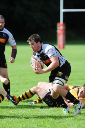 Scott Matthews sets the standard for fellow Dragons and Wales U20s openside James Benjamin