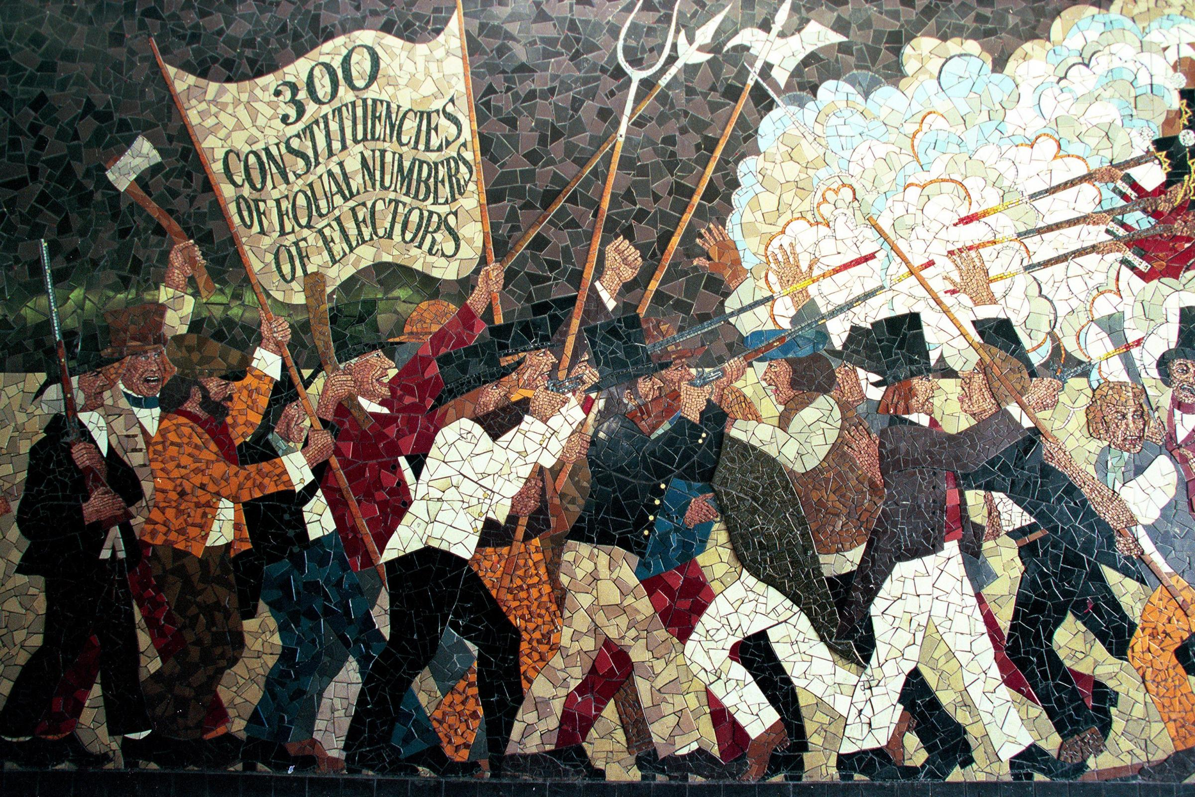 chartist movement Chartism definition, the principles or movement of a party of political reformers, chiefly workingmen, in england from 1838 to 1848: so called from the document (people's charter or national charter) that contained a statement of their principles and demands.
