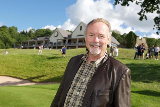 RICH: Sir Terry Matthews at the Celtic Manor Resort