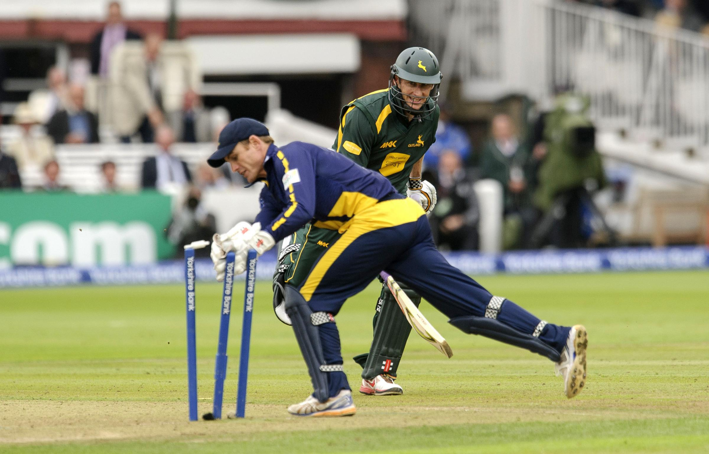 GLAMORGAN GREAT: Mark Wallace has retired after 18 years with the county's first team