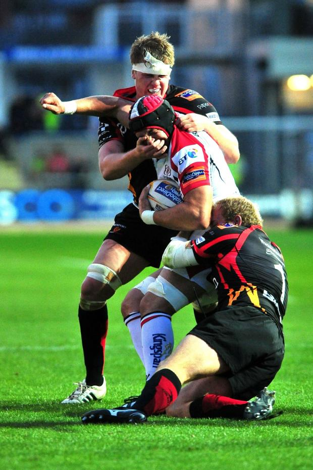 South Wales Argus: Lewis Evans: Dragons defence must be watertight against Ulster