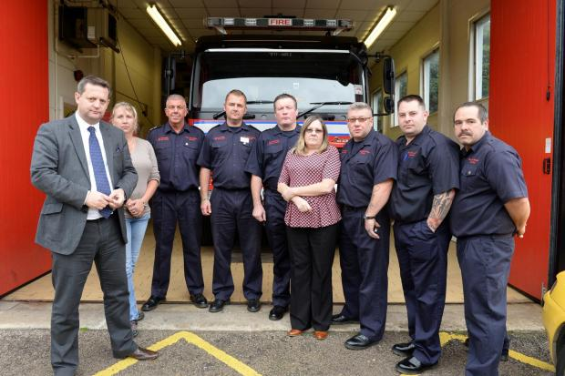Anger mounts over Blaina fire station closure plan