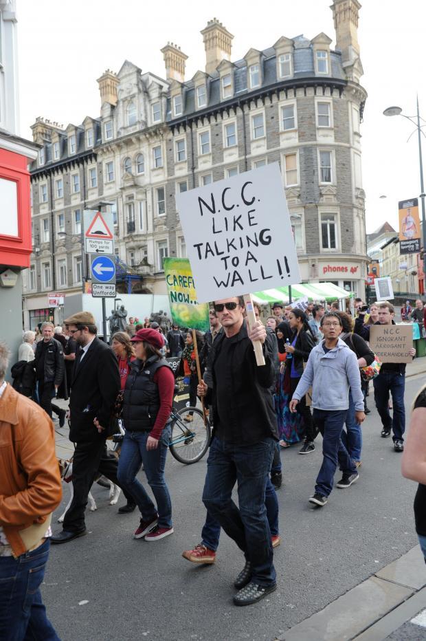 Protestors hit back in newport chartist mural row from for Chartist mural newport