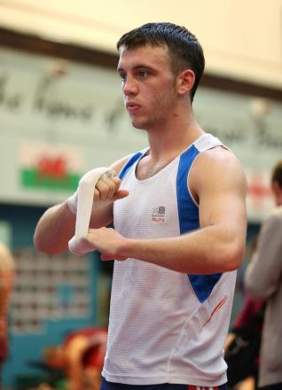 Wales' Fred Evans during the Team GB Media Day at the English Institute of Sport, Sheffield. PRESS ASSOCIATION Photo. Picture date: Tuesday September 24, 2013. Fred Evans is the first to admit his career has not gone entirely to plan since a series of