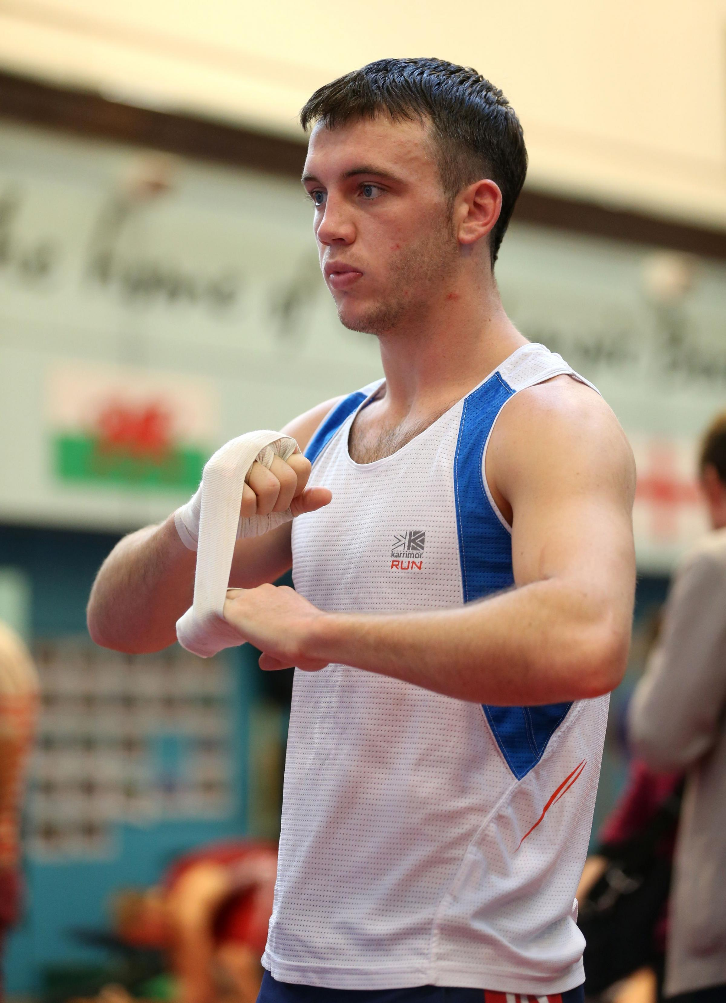 EXCLUDED: Fred Evans' dreams of Glasgow gold are over