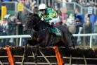 AWAY AND GONE: At Fishers Cross and AP McCoy jump the last clear of the field at Aintree