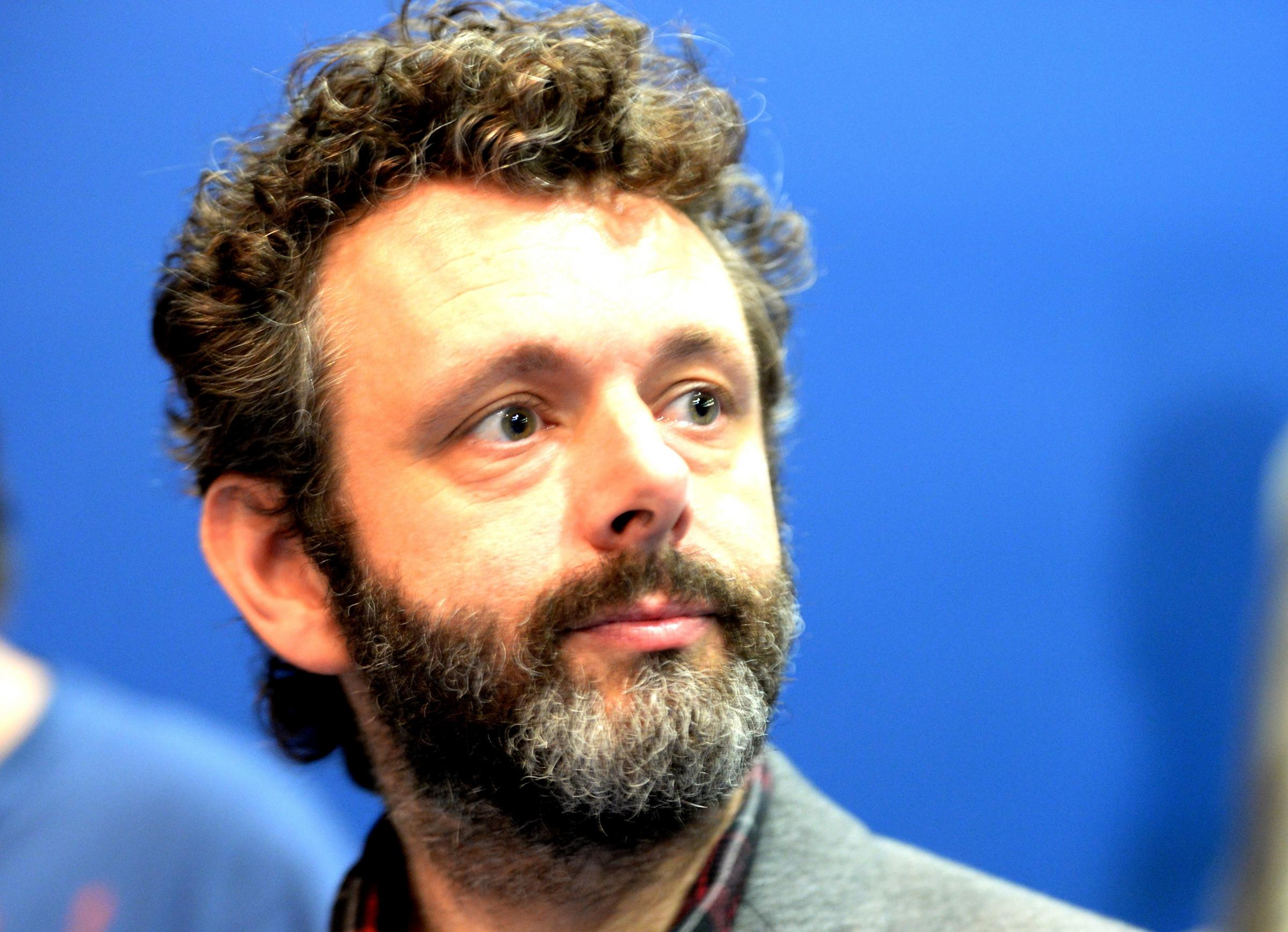 SYMBOL: Michael Sheen called for action to replace the Chartist Mural destroyed on October 3