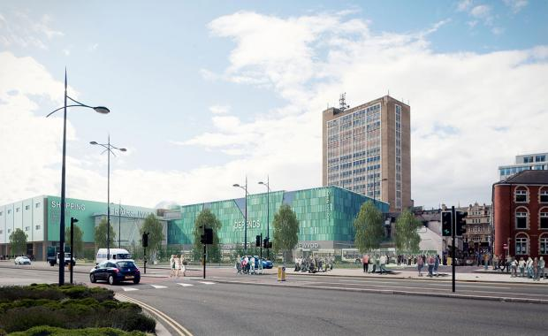 South Wales Argus: VISION: How Newport's Friars Walk development could look