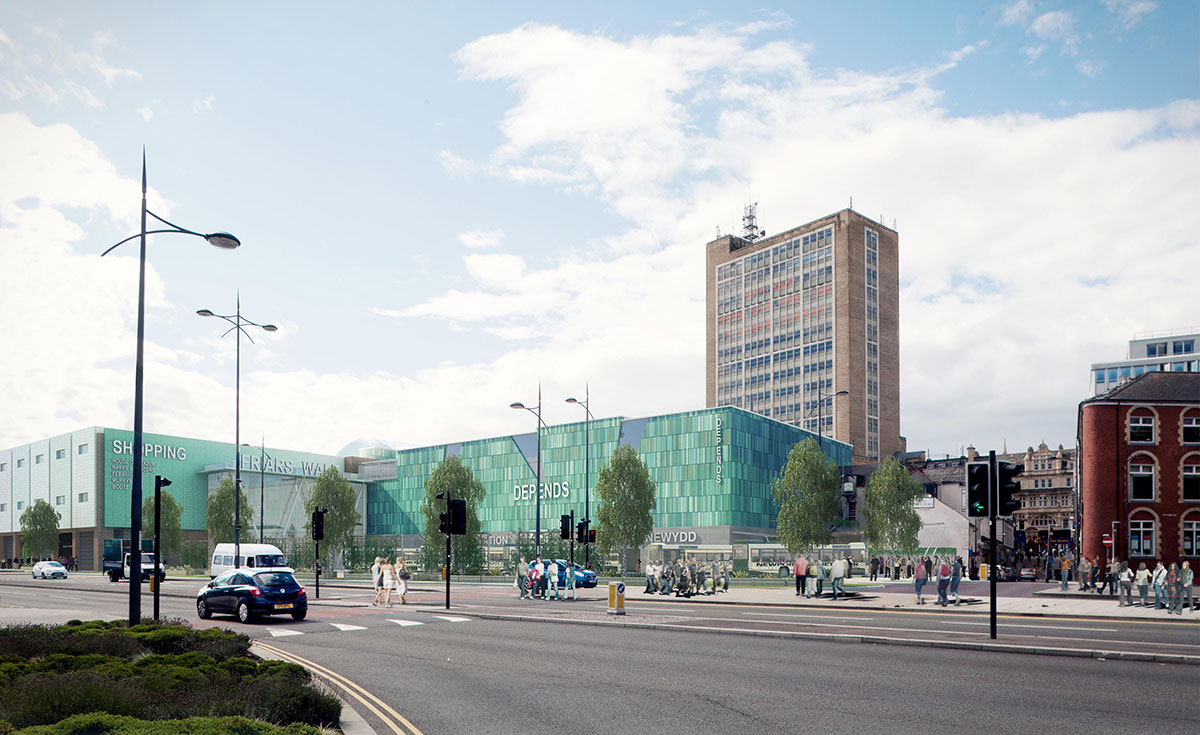 VISION: How Newport's Friars Walk development could look