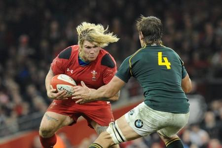INFLUENTIAL: Wales will need hooker Richard Hibbard's barnstorming runs and big hits against England tomorrow