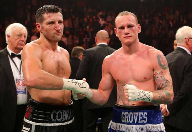 Image result for handshake after fight