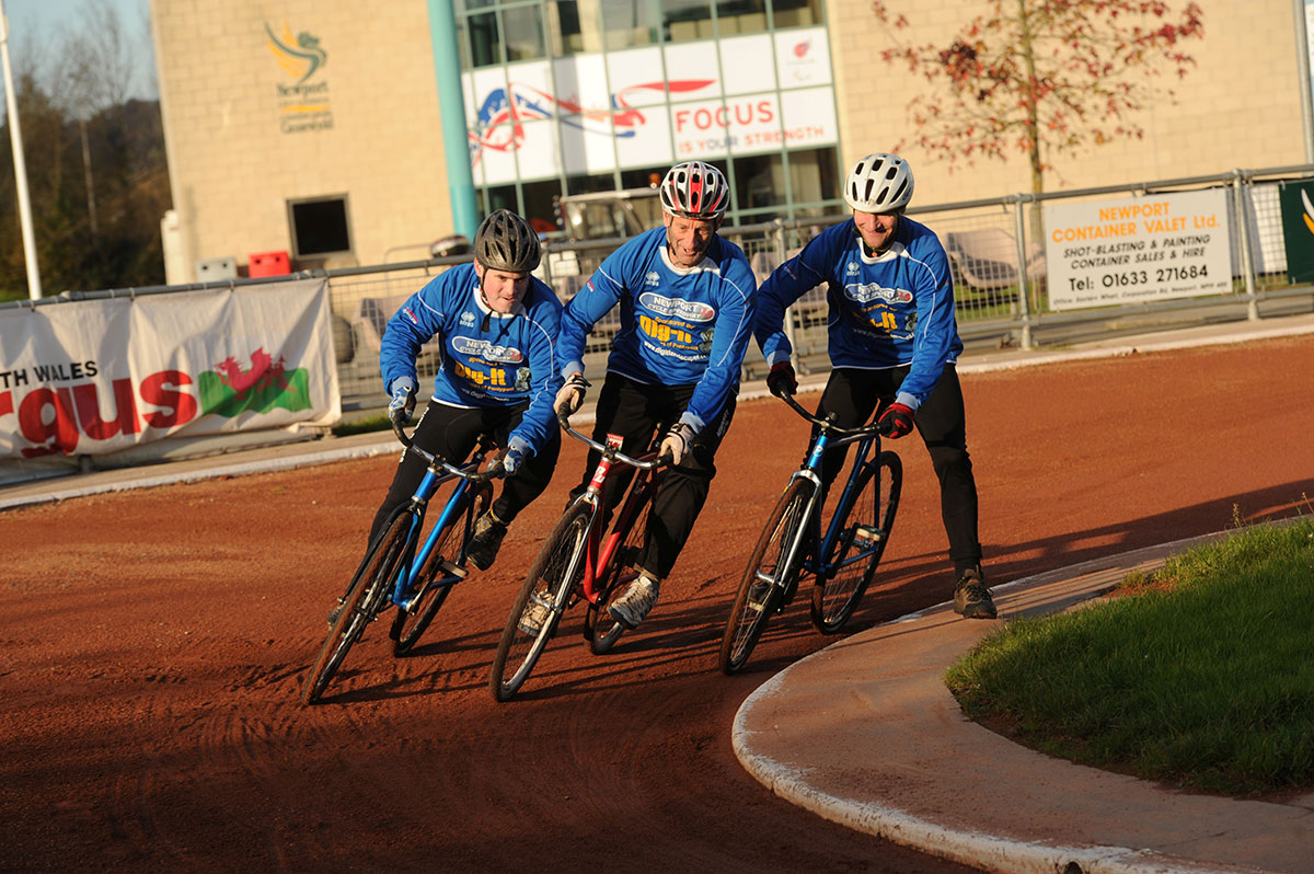 IT'S THE WEEKEND: Newport is centre of cycle speedway