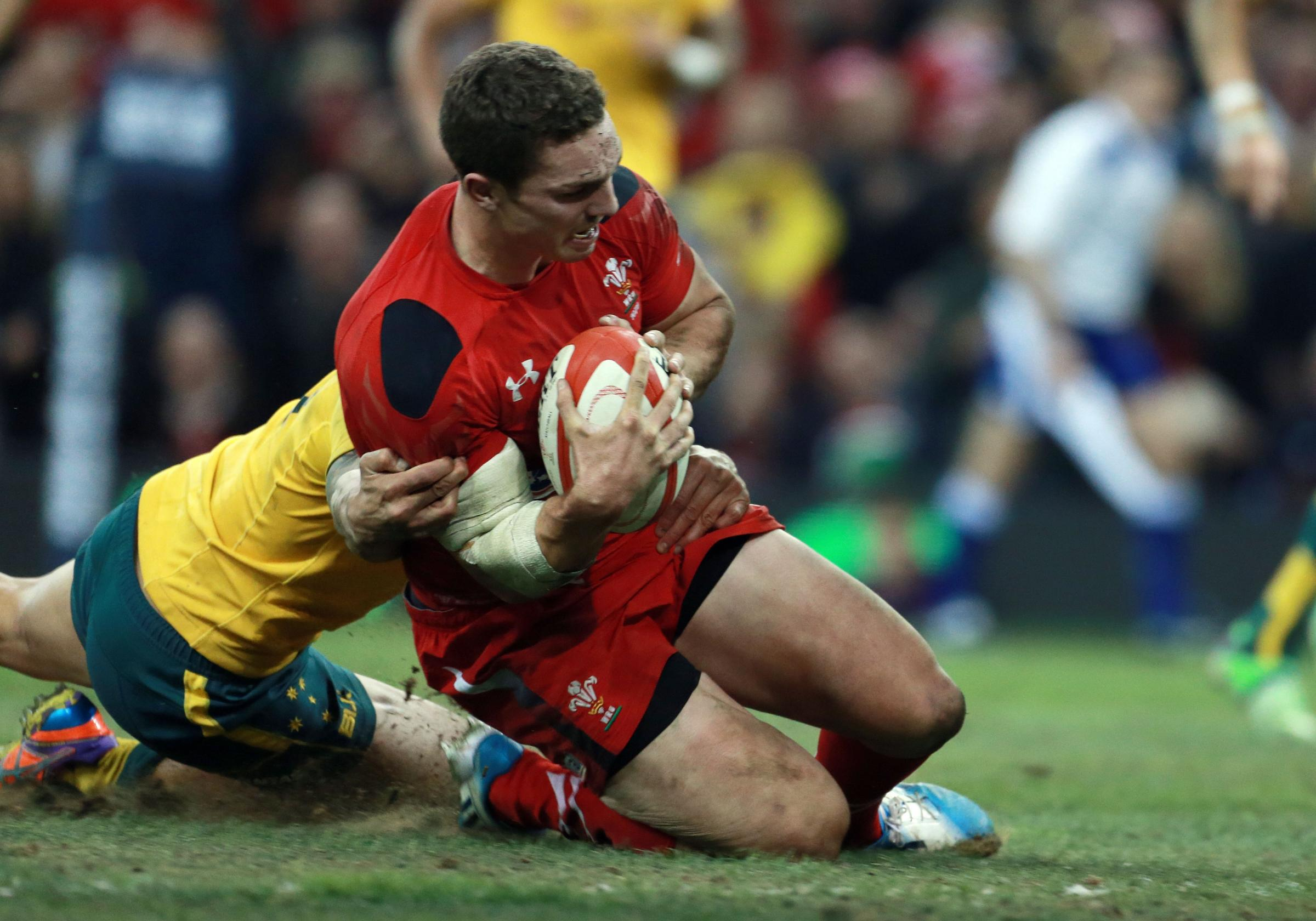 Wales wing George North g