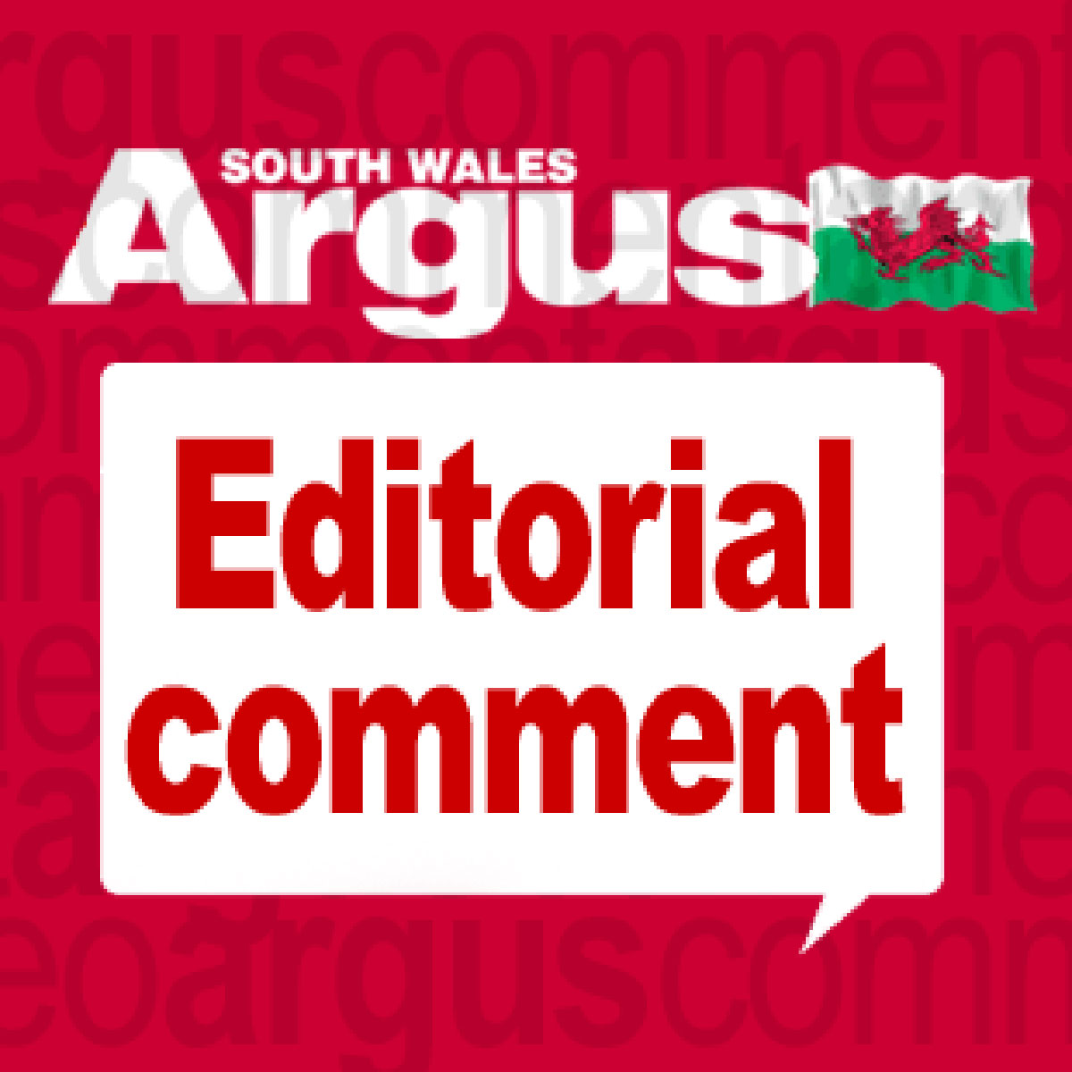 ARGUS COMMENT: Good luck, Mr Mayor