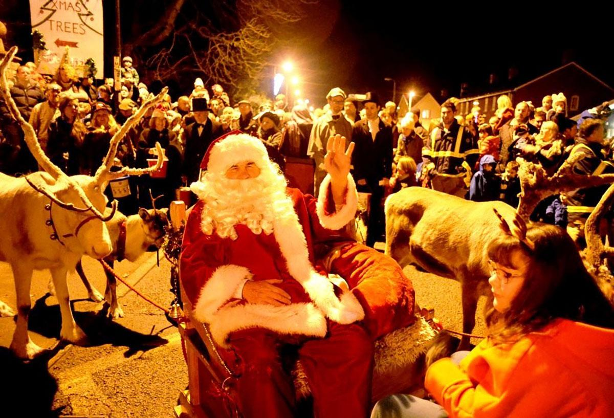 Image result for USK reindeer parade