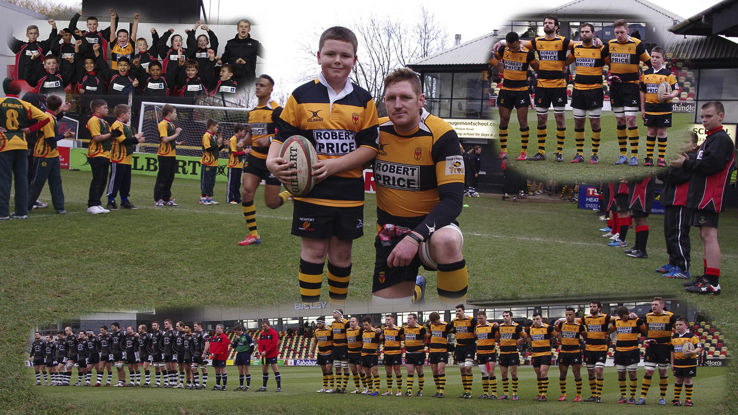Keiran with Newport RFC