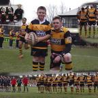 South Wales Argus: Keiran with Newport RFC