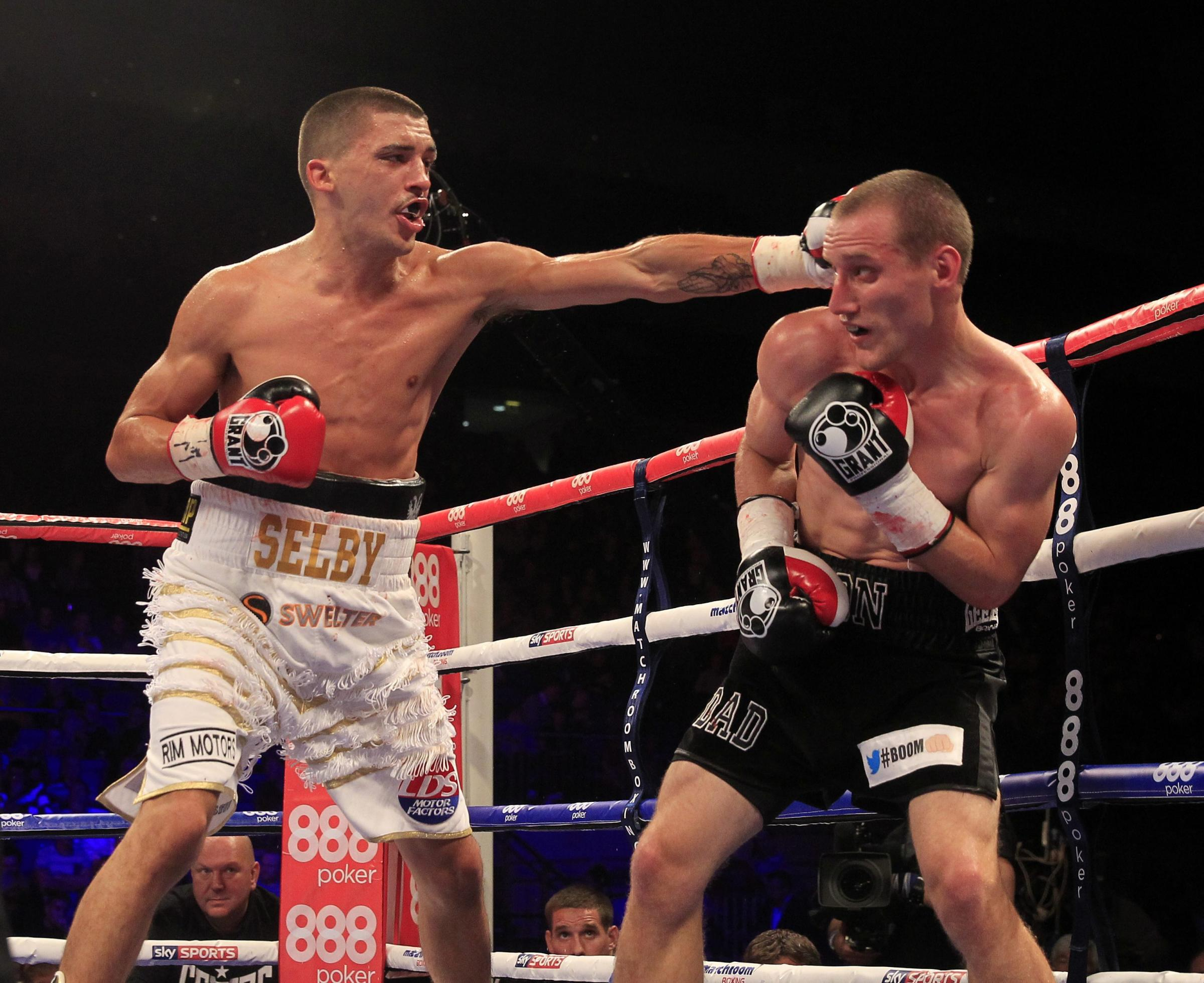 TOP OF THE BILL: St Joseph's star Lee Selby, left, fights for the European title on February 1. Picture: Lawrence Lustig