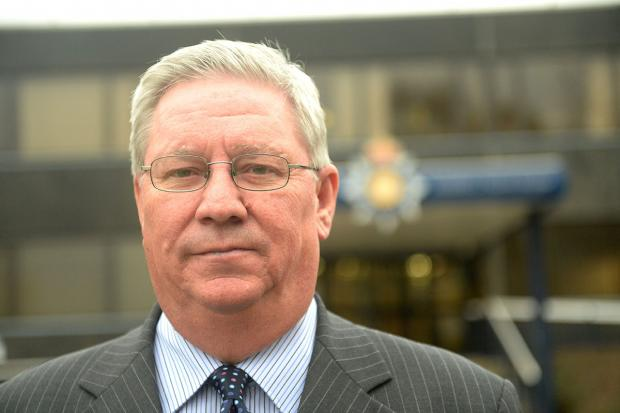 STATION PLAN: Gwent police and crime commissioner Ian Johnston