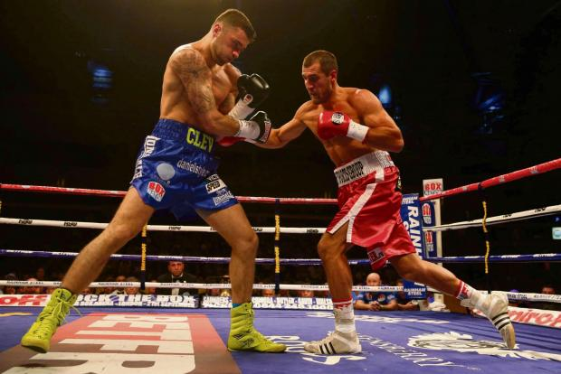 COMEBACK: Nathan Cleverly, left, will take on Junior Makubu after defeat to Sergey Kovalev, right, last time out