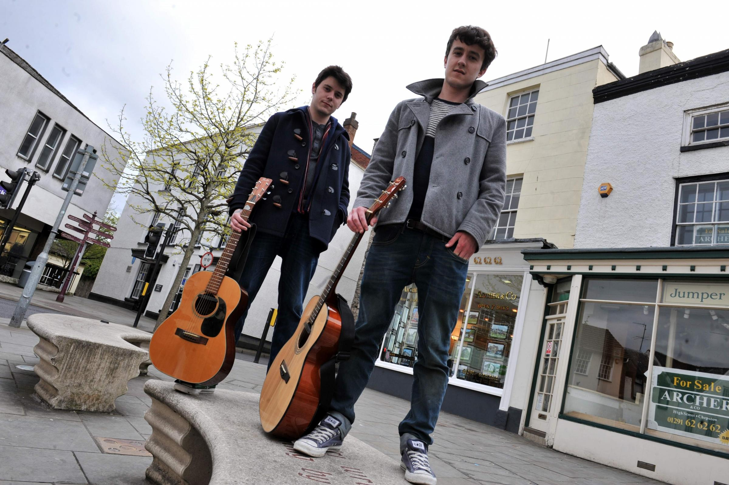 Newport music duo Lilygreen and Maguire split up