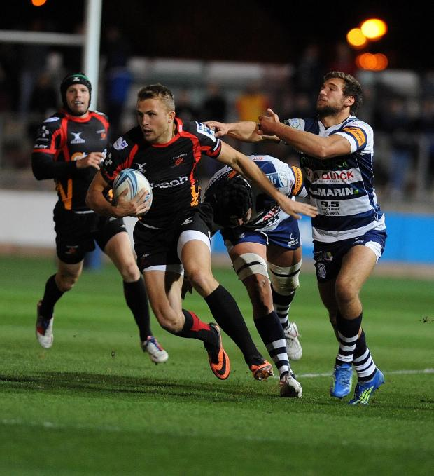 South Wales Argus: Dragons welcome back Tom Prydie for Bath encounter