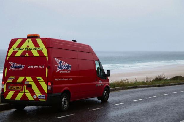 RESPONSE: Vans have been travelling hundreds of miles to help those worse affected. (3316676)