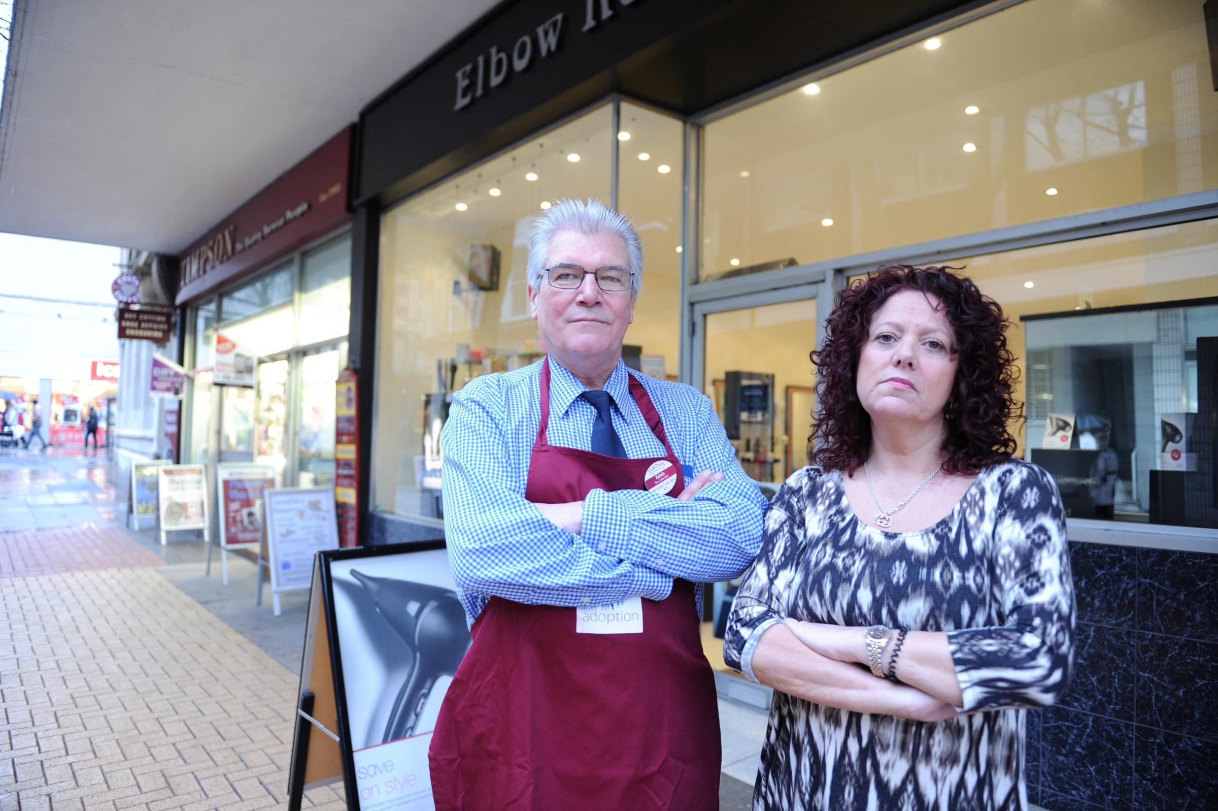 Newport council 'no help' as shoppers stay away