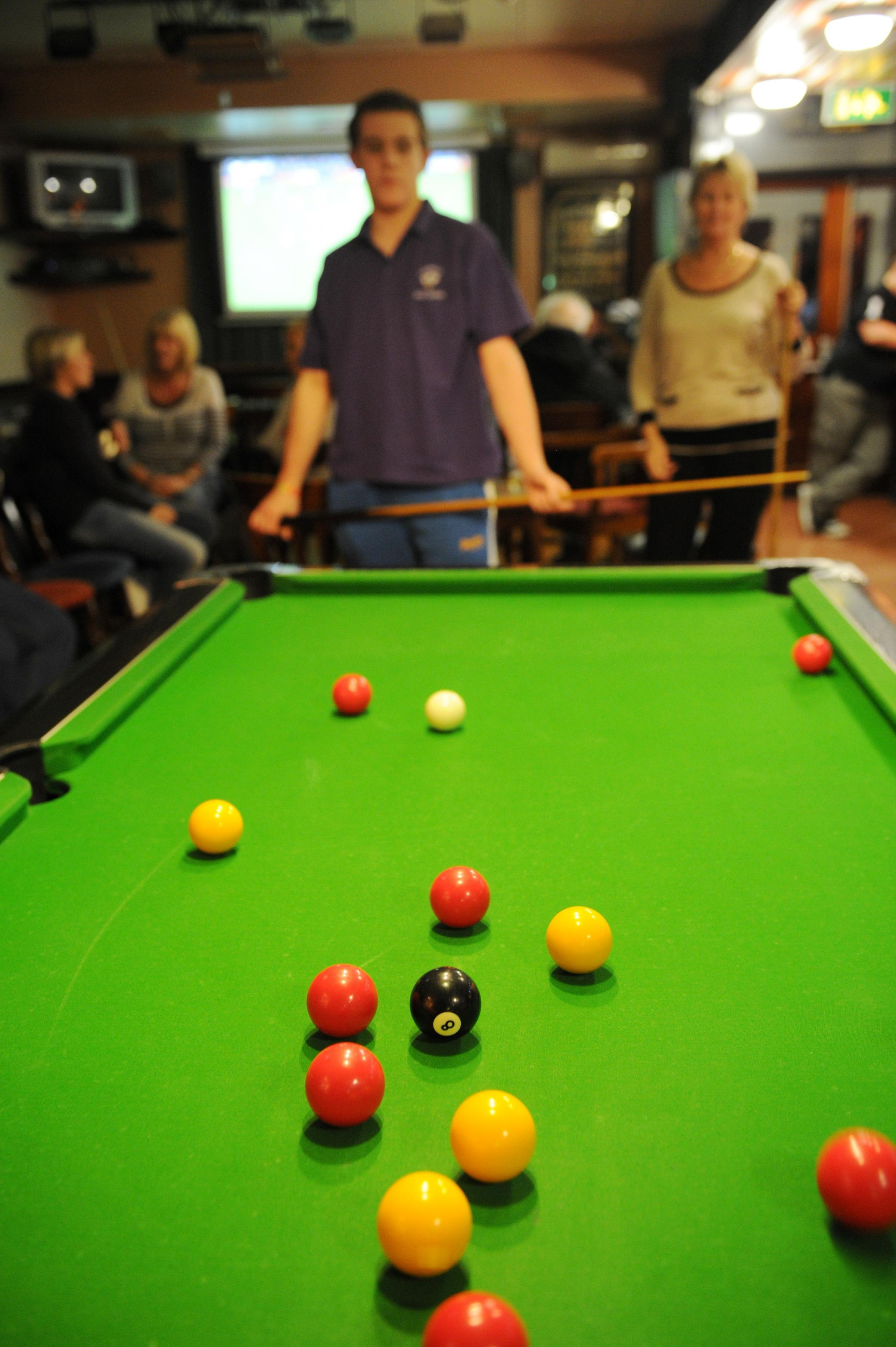 IT'S THE WEEKEND: Pool is thriving across Gwent, players say