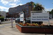 Patients warned of Royal Gwent A&E delays