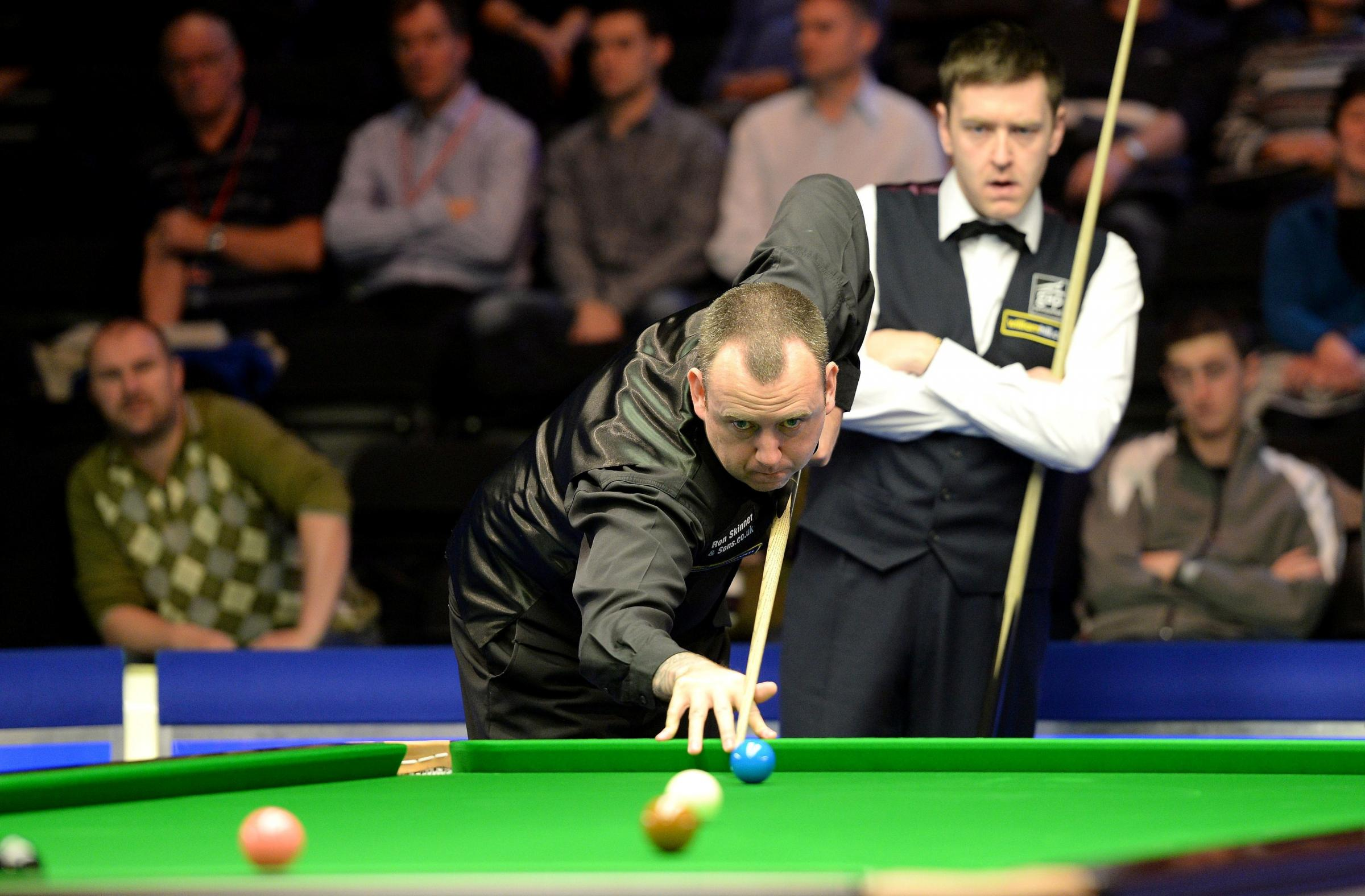 TOP PLAYERS:  Cwm's Mark Williams was among those who competed in last year's Welsh Open