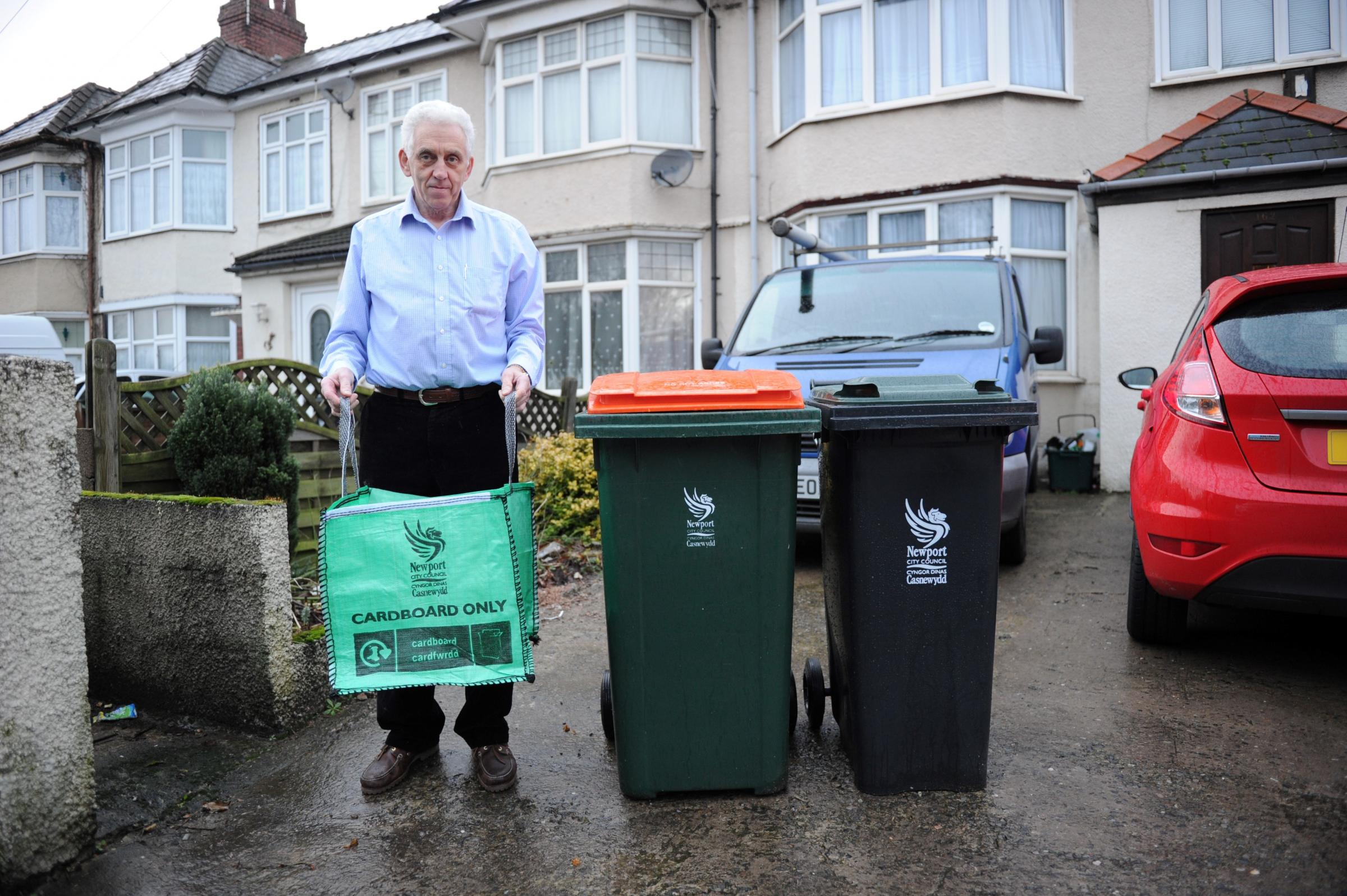 'No council support for recycling' says Newport resident